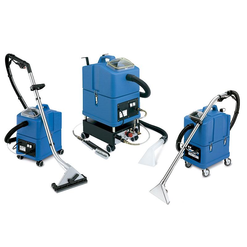 Máquinas de limpieza de inyección y extracción