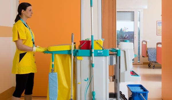 Mersa Maquinaria y Útiles de Limpieza -Hospitales y Residencias - Carro TTS