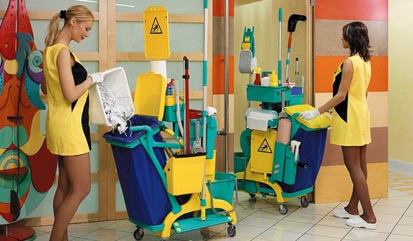 Mersa Maquinaria y Útiles de Limpieza - Empresas de Servicios - Carros de Limpieza