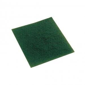 Estropajo de fibra verde