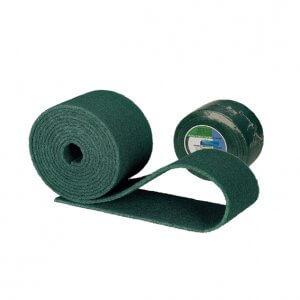Estropajo de fibra verde en rollo